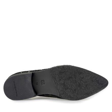 Floris van Bommel women's suede leather lace shoe