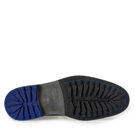Floris van Bommel suede leather lace boot