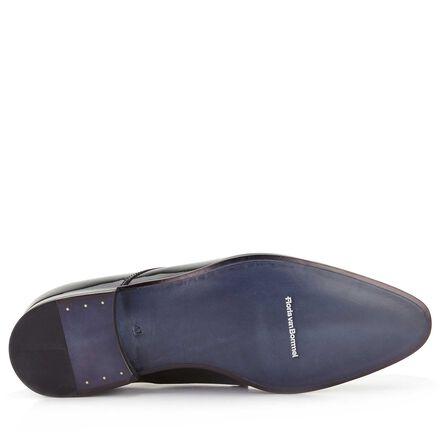 Floris van Bommel patent leather men's lace-up shoe