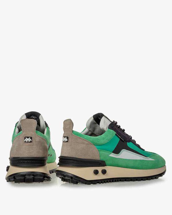 Sneaker Space Invaders groen