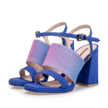 High-heeled sandal