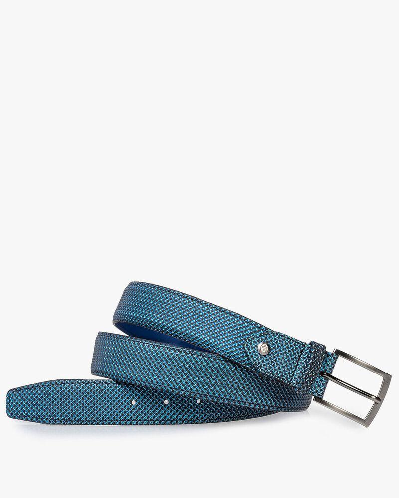 Riem blauw metallic