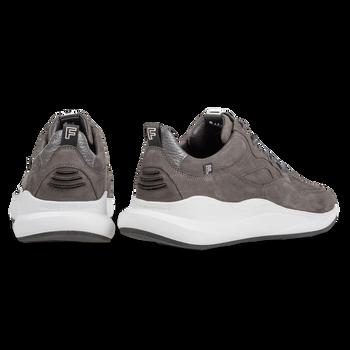 Bulki sneaker grijs nubuck