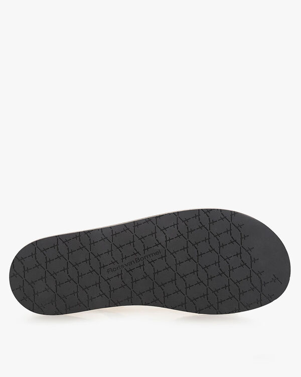 Sandaal suède zwart