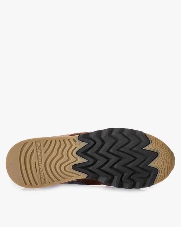 Nineti sneaker bruin