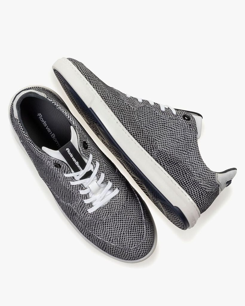 Sneaker suède off-white