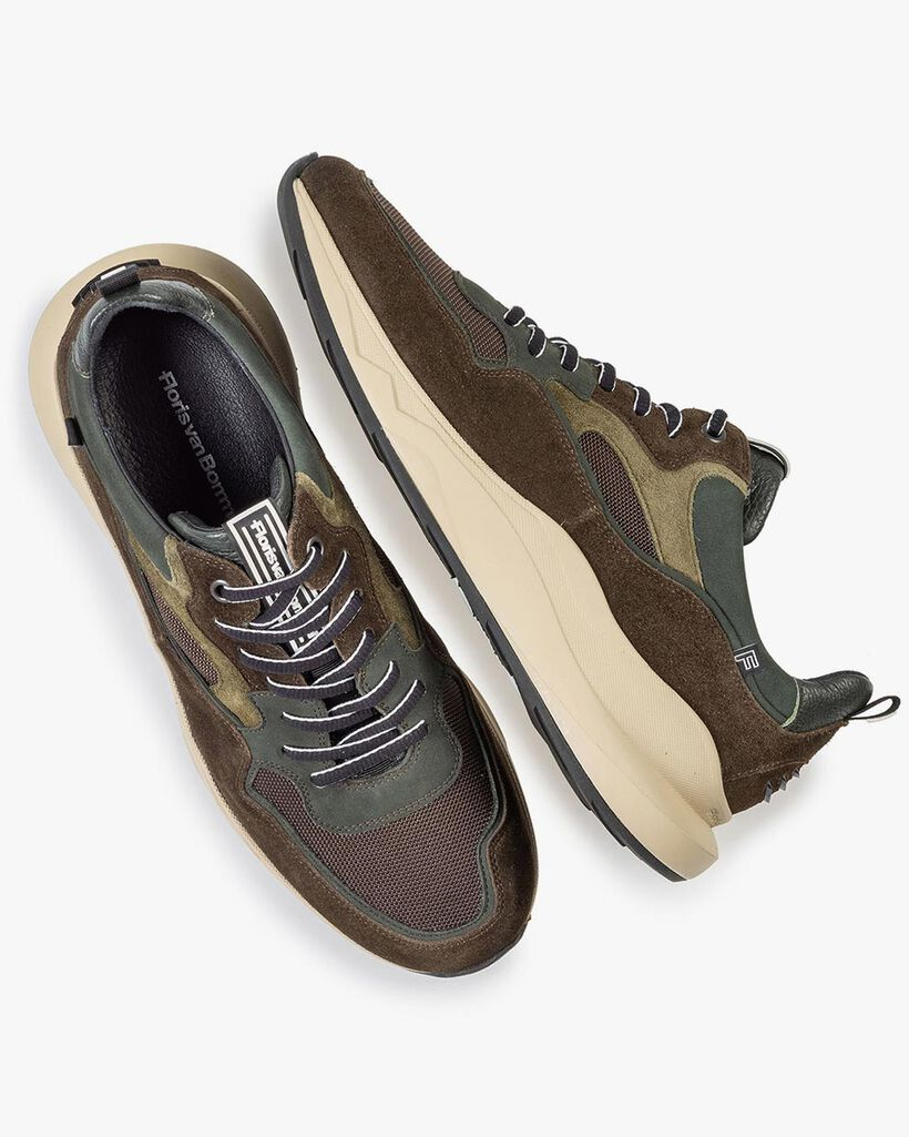 Bulki sneaker olijfgroen