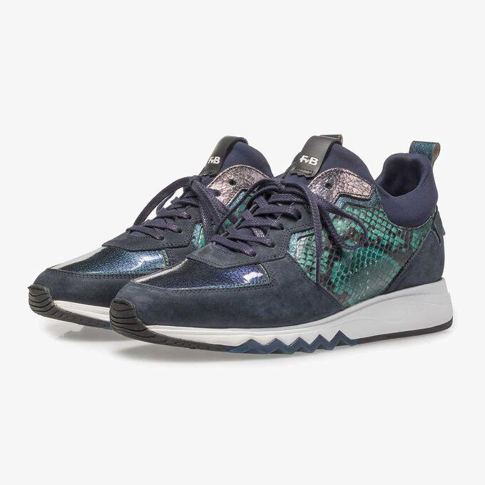 Sneaker met runnerzool
