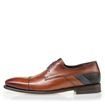 Floris van Bommel men's suede leather lace shoe