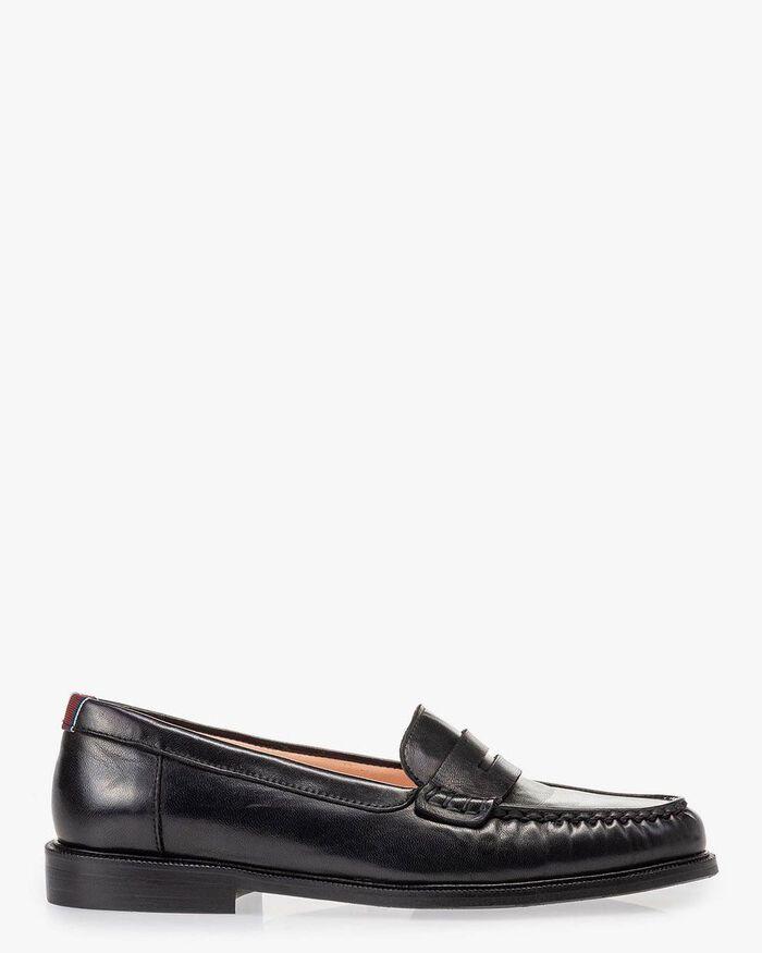 Loafer black nappa leather