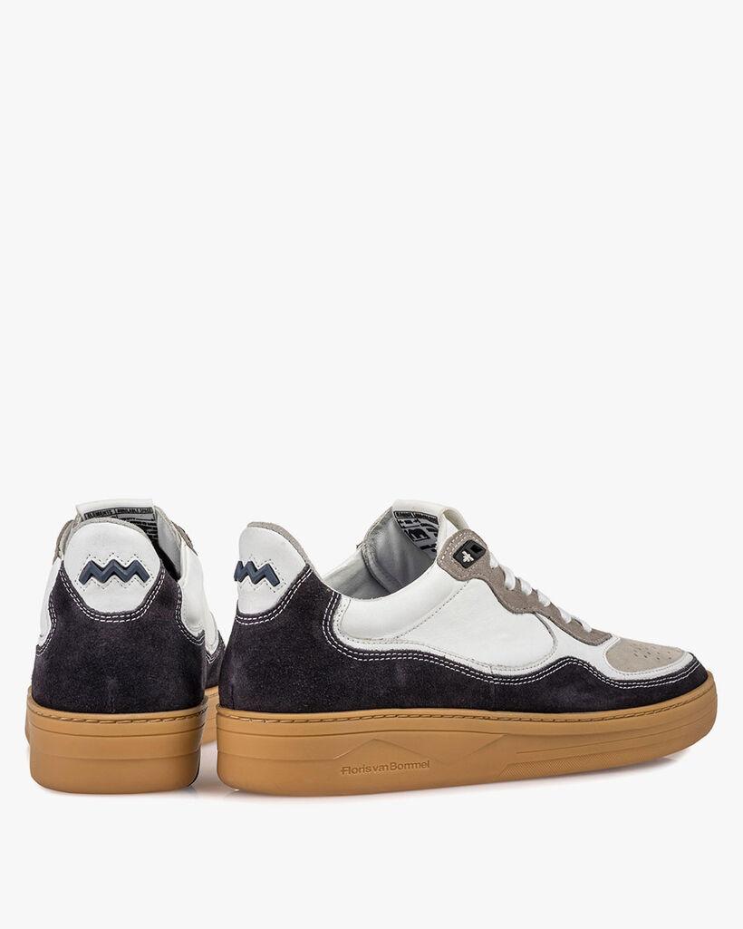 Sneaker suède zwart