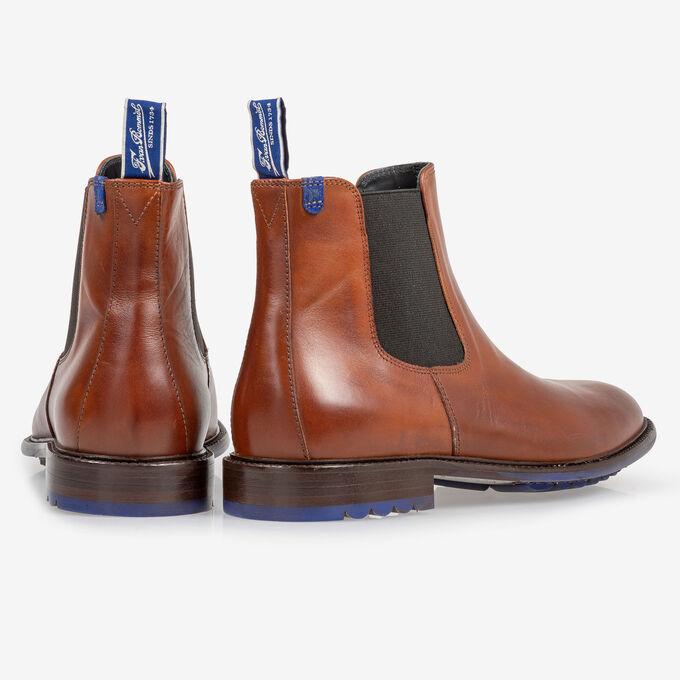 Chelsea boot kalfsleer cognac