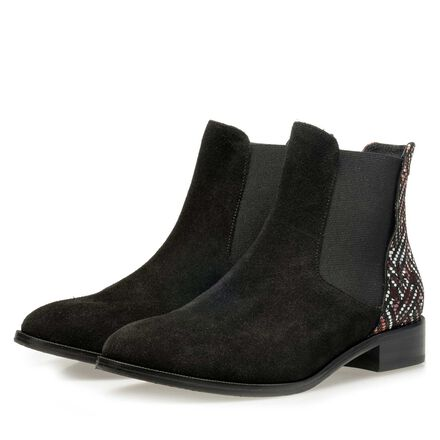 Floris van Bommel suede leather ankle boot