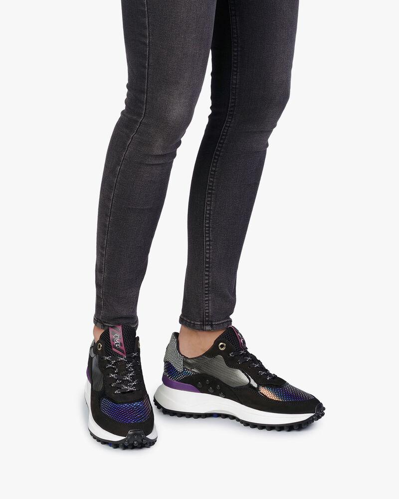 Noppi sneaker roze metallic