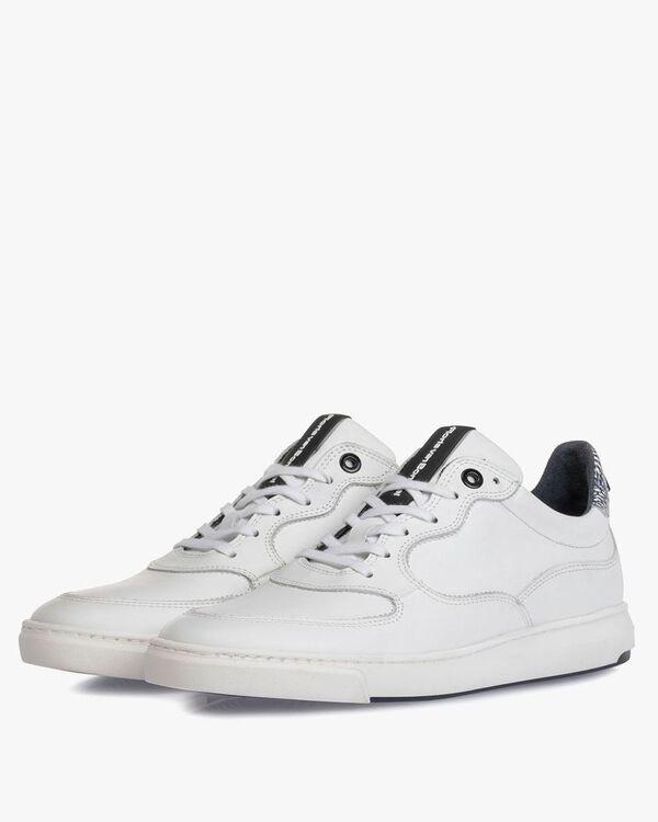 Sneaker wit kalfsleer