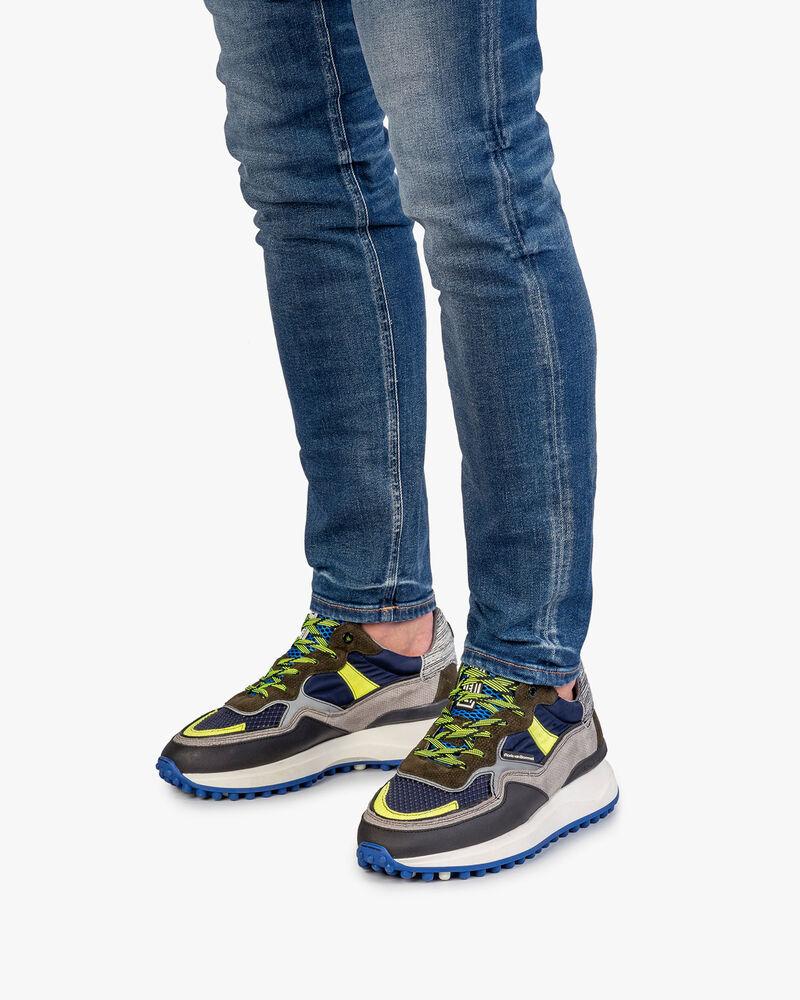 Noppi sneaker donkerblauw