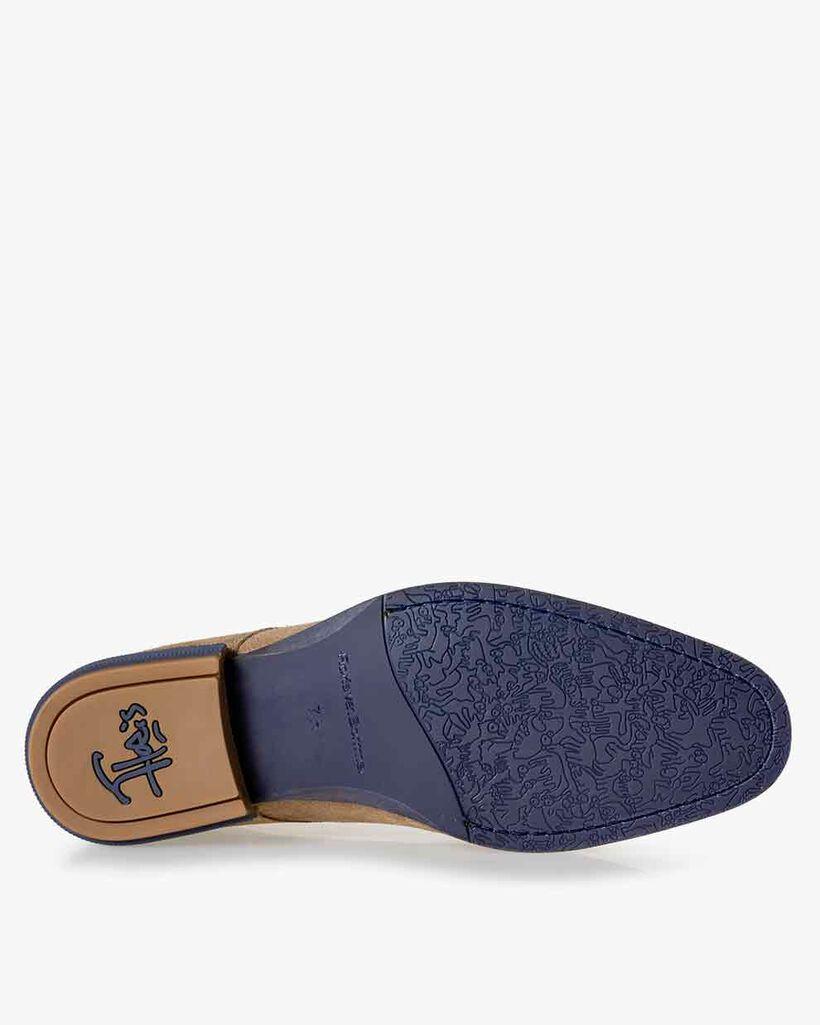 Boot suède zand