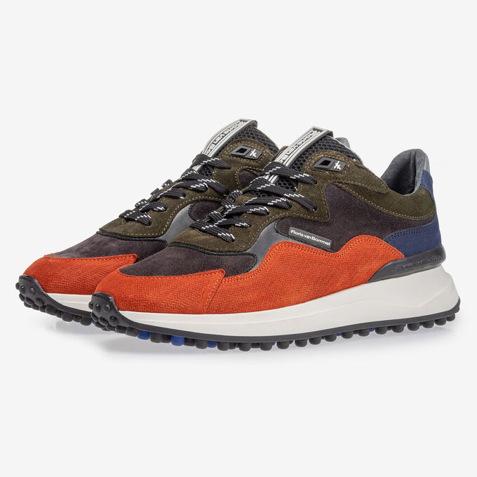 Noppi sneaker dark blue/orange