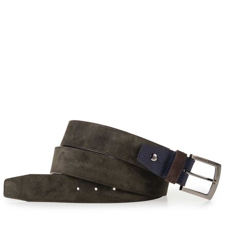 Floris van Bommel leather men's belt