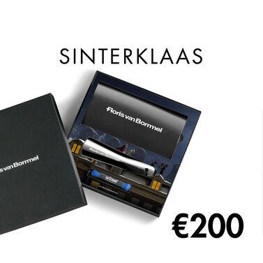 Floris van Bommel cadeaukaart Sinterklaas thema