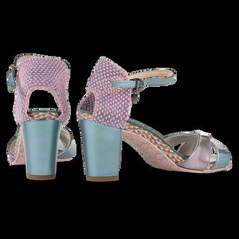 Sandaal lakleer lichtblauw