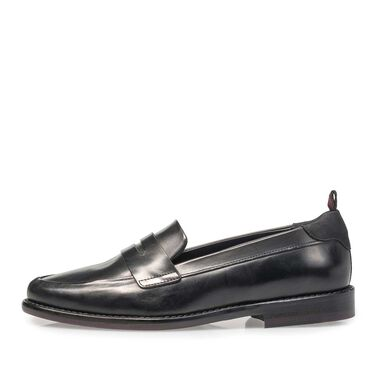 Kalfsleren loafer