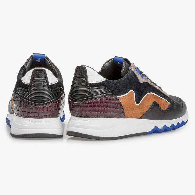 Multicolour suède sneaker