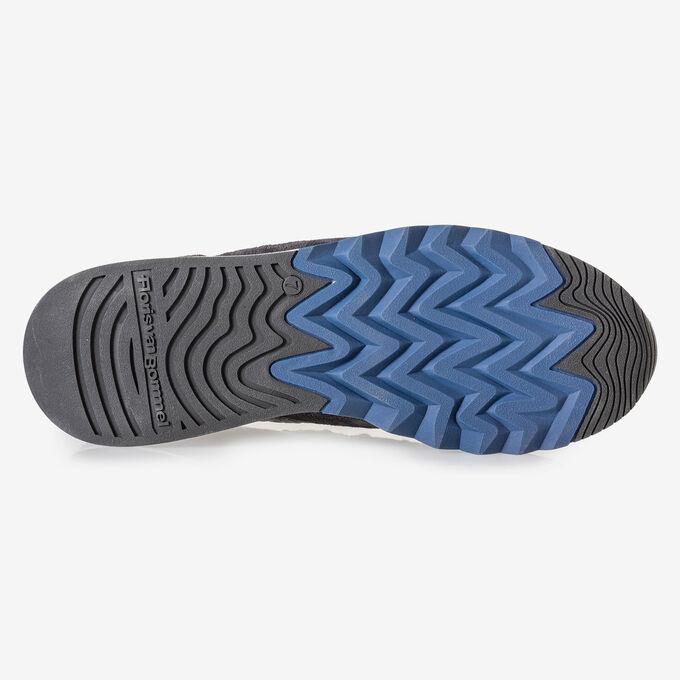 Sneaker donkerbruin suède