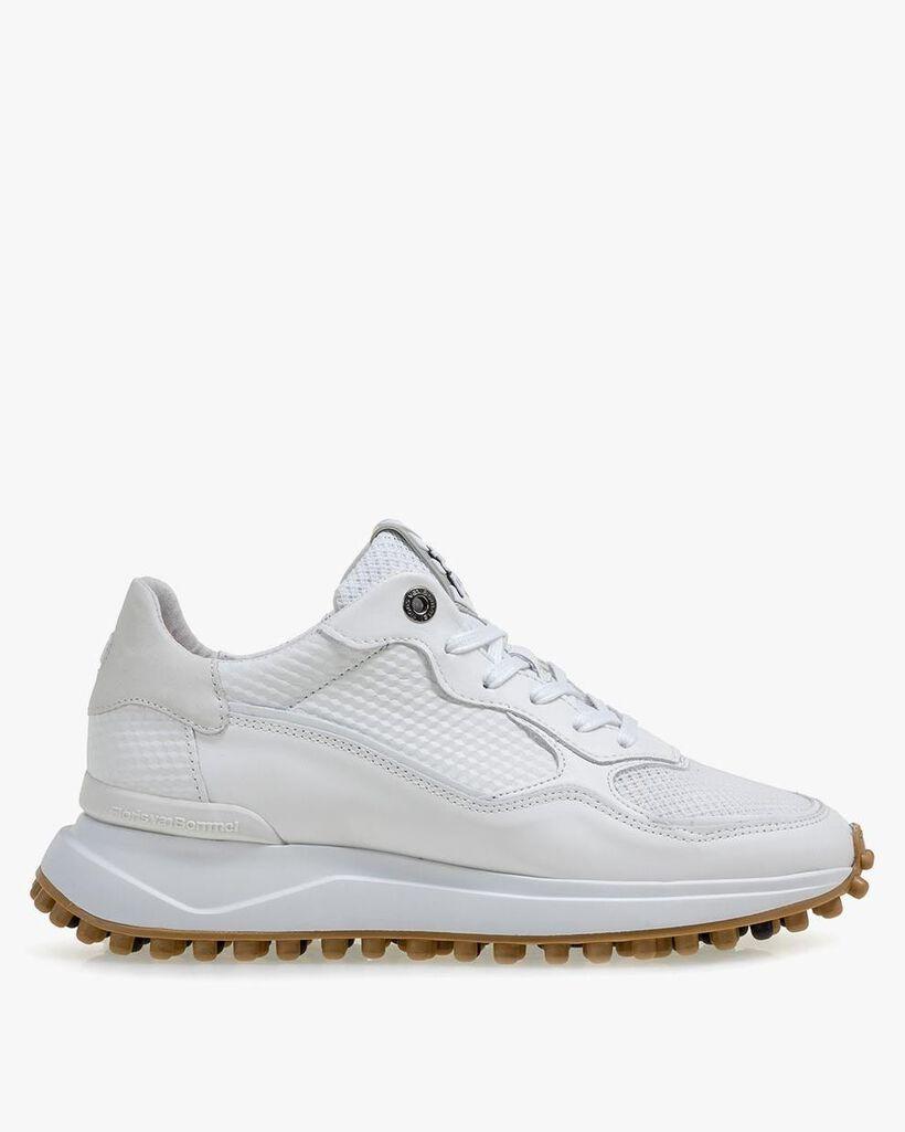 Noppi calf leather white