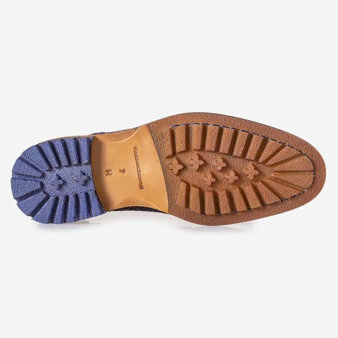 Crepi boot blauw met print