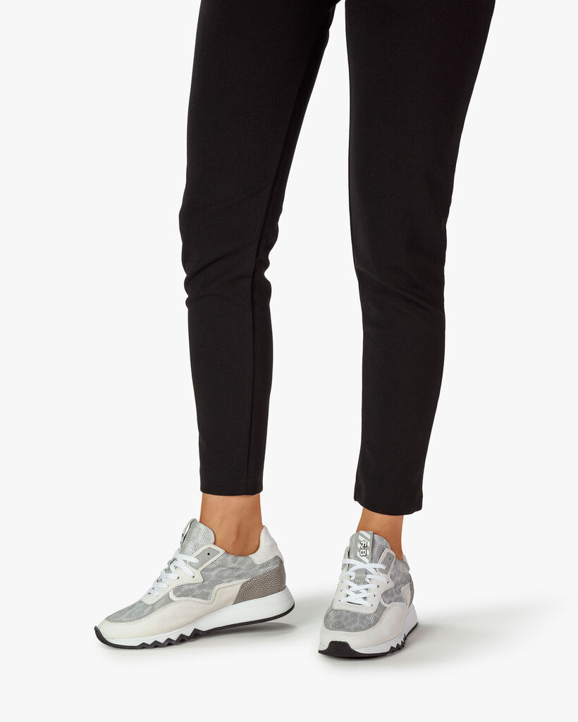 Nineti metallic light grey
