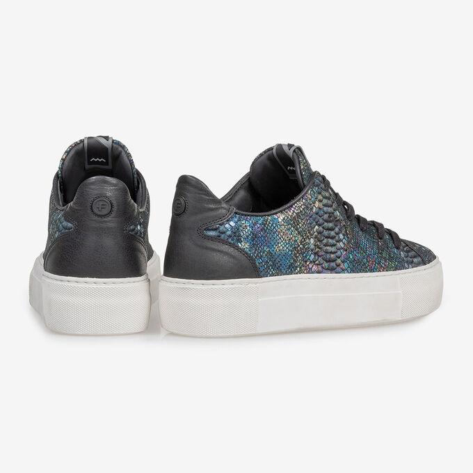 Sneaker snakeprint multi-colour