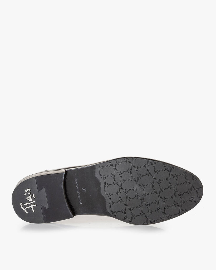 Loafer zwart nappaleer