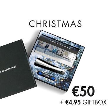 Floris van Bommel cadeaukaart met Kerst thema