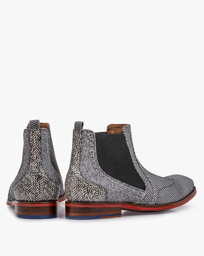 Chelsea boot leer off-white