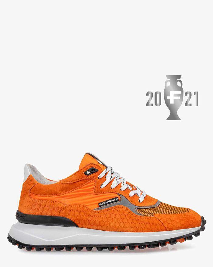 Noppi EK sneaker suede orange