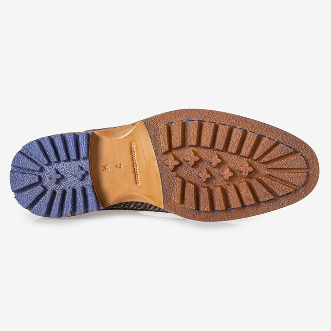 Crepi boot bruin met print