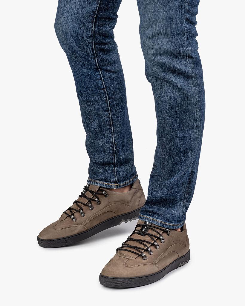 Sneaker nubuck grijs
