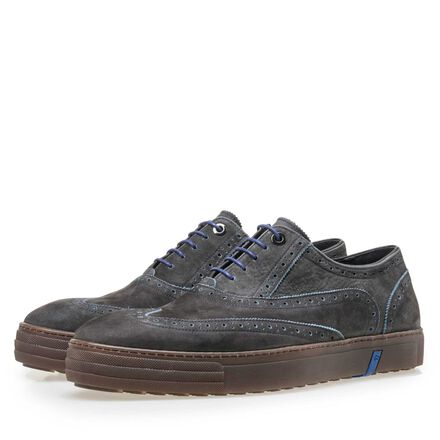Heren brogue sneaker