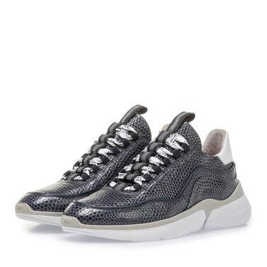 Sneaker met print