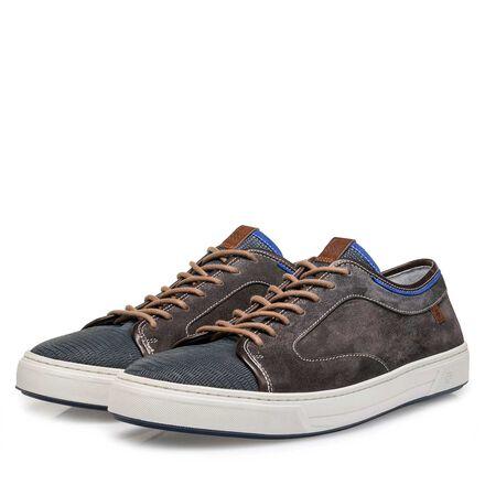 Gewassen suède sneaker