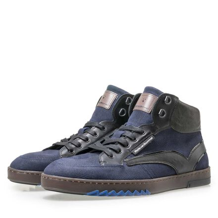Floris van Bommel men's mid-high sneaker