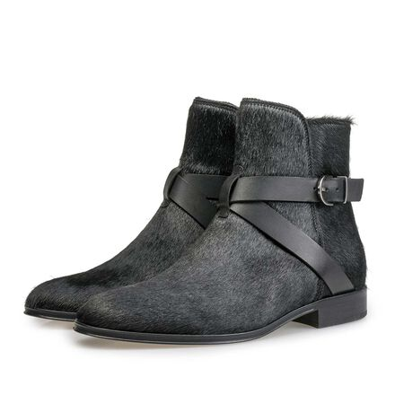 Pony hair Chelsea boot