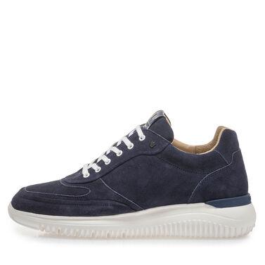 Leren sneaker Van Bommel