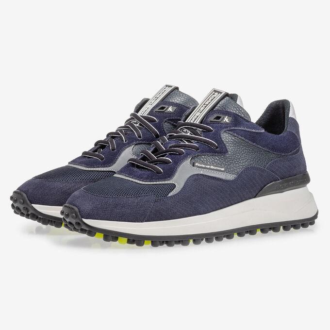 Noppi sneaker dark blue with print