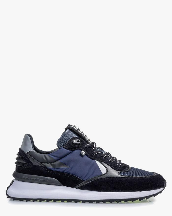 Sharki sneaker suede dark blue