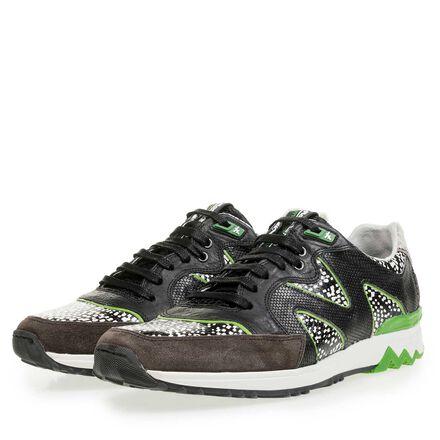 'Marcel Vanthilt' sneaker met lizard print