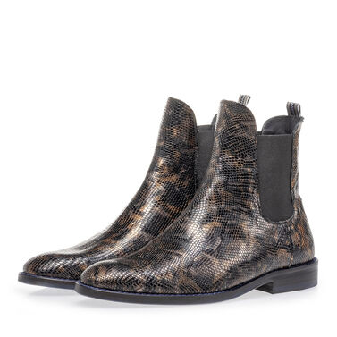 Chelsea boot crocoprint
