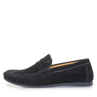 Suede leather loafer Van Bommel