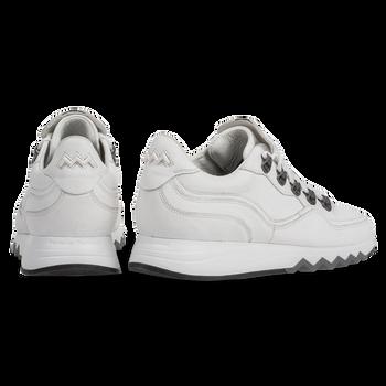 Sneaker met structuur wit